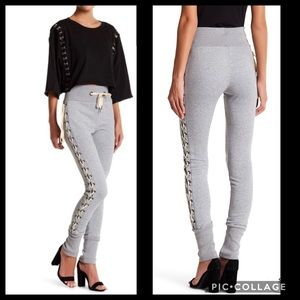 OOBERSWANK Lace up side pants